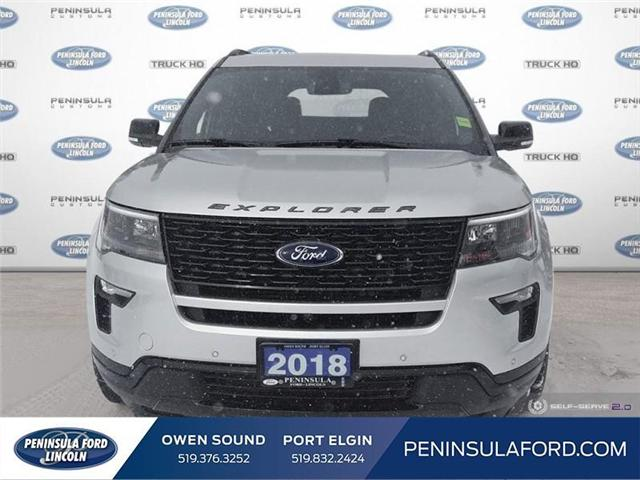 2018 Ford Explorer Sport (Stk: 19FE38A) in Owen Sound - Image 2 of 24