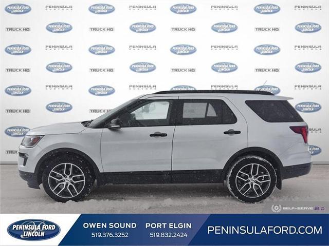 2018 Ford Explorer Sport (Stk: 19FE38A) in Owen Sound - Image 3 of 24