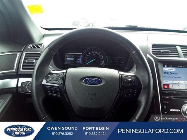 2018 Ford Explorer Sport (Stk: 19FE38A) in Owen Sound - Image 13 of 24