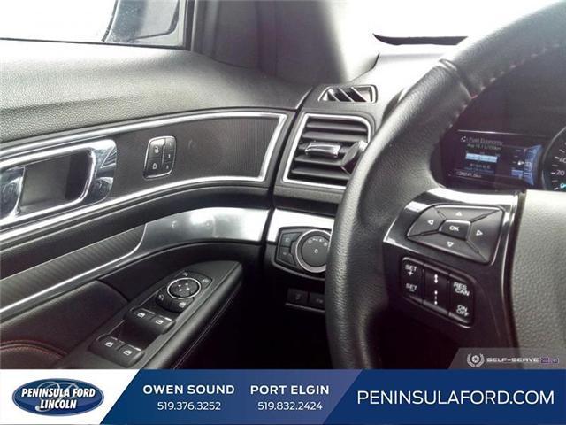 2018 Ford Explorer Sport (Stk: 19FE38A) in Owen Sound - Image 16 of 24