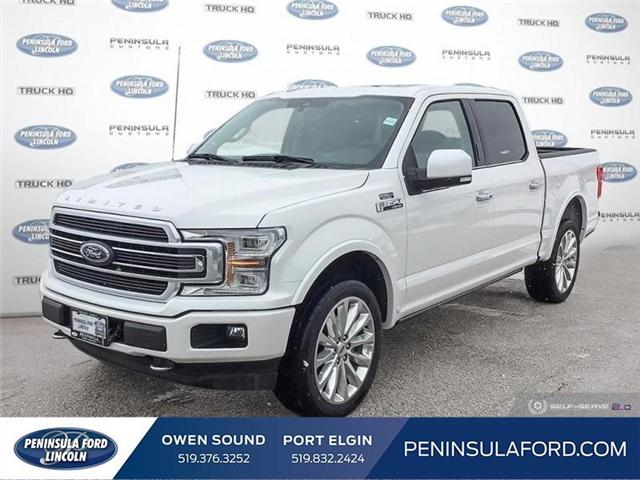 2019 Ford F-150 Limited (Stk: 19FE69) in Owen Sound - Image 1 of 24