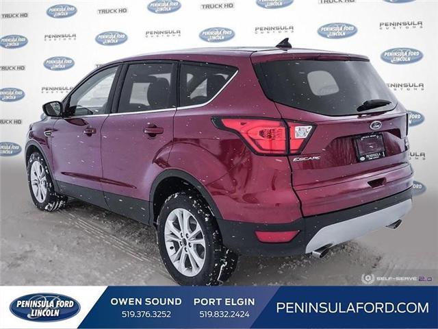 2019 Ford Escape SE (Stk: 19ES34) in Owen Sound - Image 4 of 24