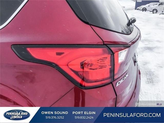 2019 Ford Escape SE (Stk: 19ES34) in Owen Sound - Image 10 of 24