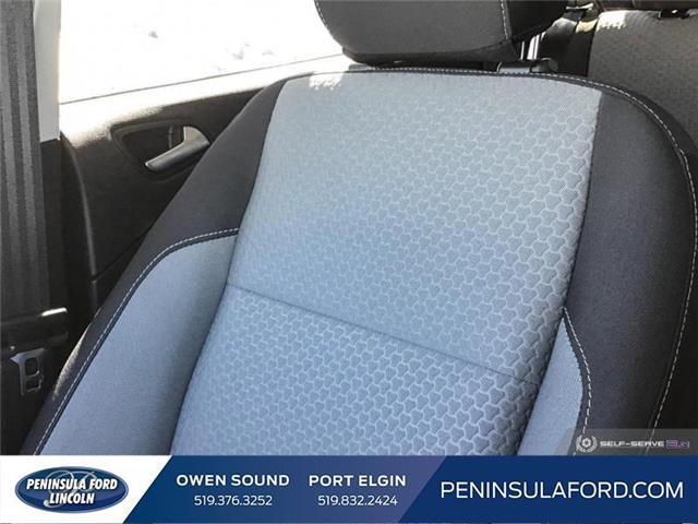 2019 Ford Escape SE (Stk: 19ES35) in Owen Sound - Image 20 of 25