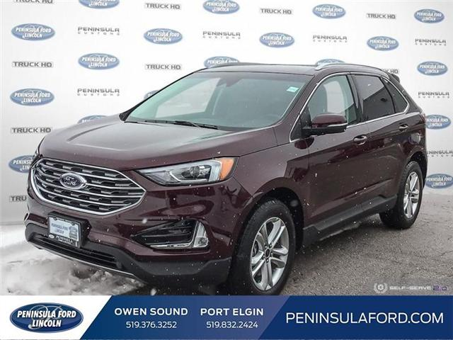 2019 Ford Edge SEL (Stk: 19ED28) in Owen Sound - Image 1 of 24
