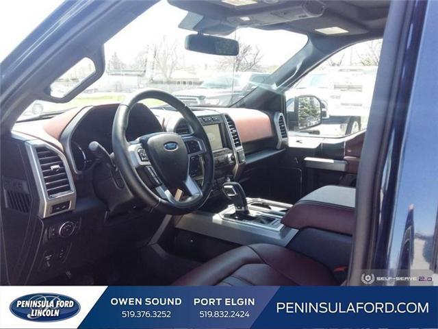 2019 Ford F-150 Platinum (Stk: 19FE106) in Owen Sound - Image 11 of 23