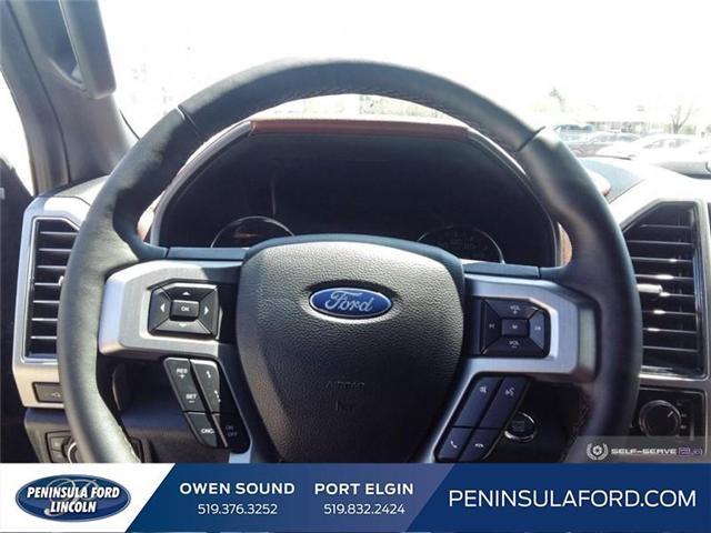 2019 Ford F-150 Platinum (Stk: 19FE106) in Owen Sound - Image 12 of 23