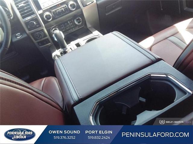 2019 Ford F-150 Platinum (Stk: 19FE106) in Owen Sound - Image 16 of 23