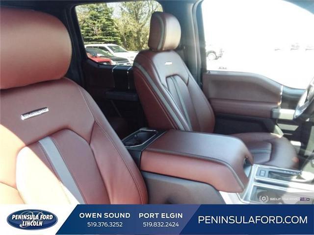 2019 Ford F-150 Platinum (Stk: 19FE106) in Owen Sound - Image 20 of 23
