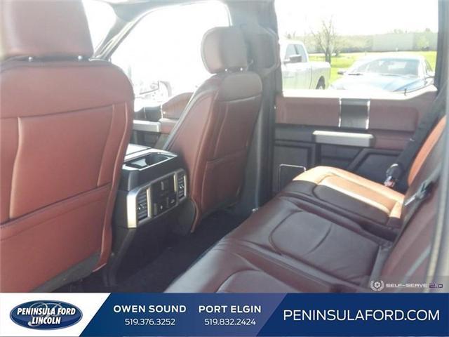2019 Ford F-150 Platinum (Stk: 19FE106) in Owen Sound - Image 21 of 23