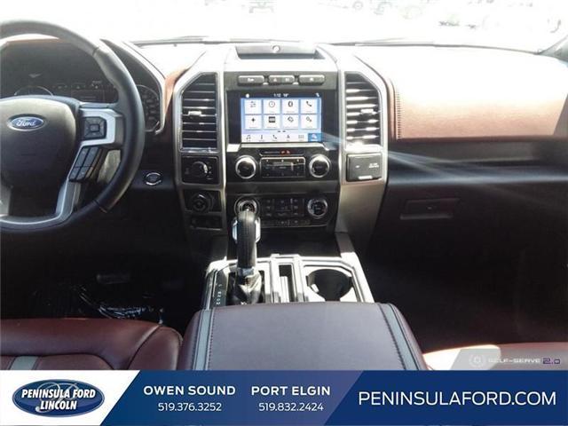 2019 Ford F-150 Platinum (Stk: 19FE106) in Owen Sound - Image 22 of 23