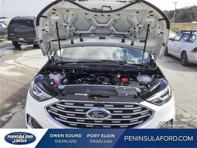 2019 Ford Edge SEL (Stk: 19ED34) in Owen Sound - Image 10 of 25