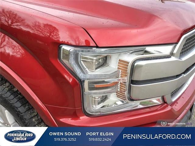 2019 Ford F-150 Platinum (Stk: 19FE125) in Owen Sound - Image 8 of 24