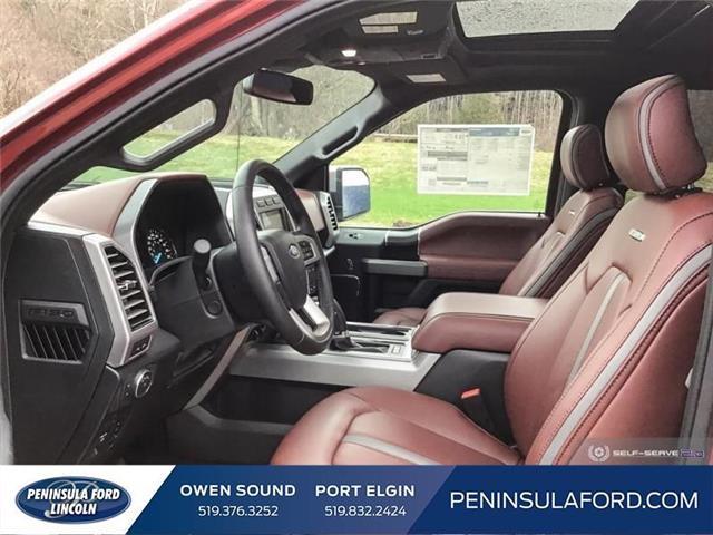 2019 Ford F-150 Platinum (Stk: 19FE125) in Owen Sound - Image 12 of 24