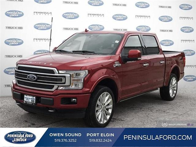 2019 Ford F-150 Limited (Stk: 19FE133) in Owen Sound - Image 1 of 25