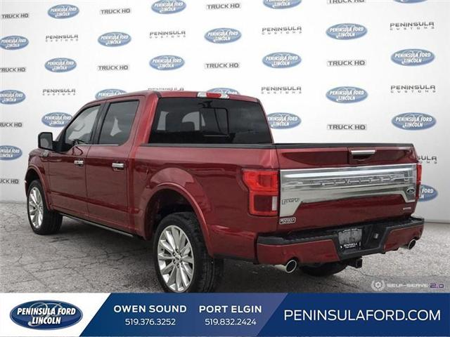 2019 Ford F-150 Limited (Stk: 19FE133) in Owen Sound - Image 4 of 25