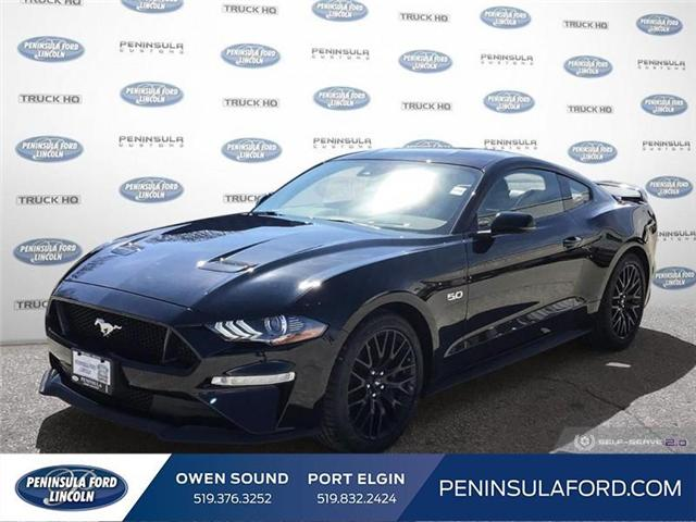 2019 Ford Mustang  (Stk: 19MU07) in Owen Sound - Image 1 of 24