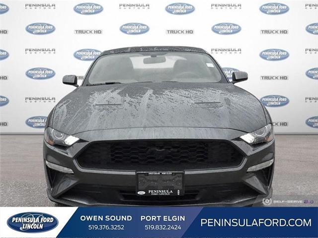 2019 Ford Mustang EcoBoost (Stk: 19MU08) in Owen Sound - Image 2 of 25