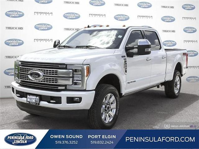2019 Ford F-250 Platinum (Stk: 19FE166) in Owen Sound - Image 1 of 24