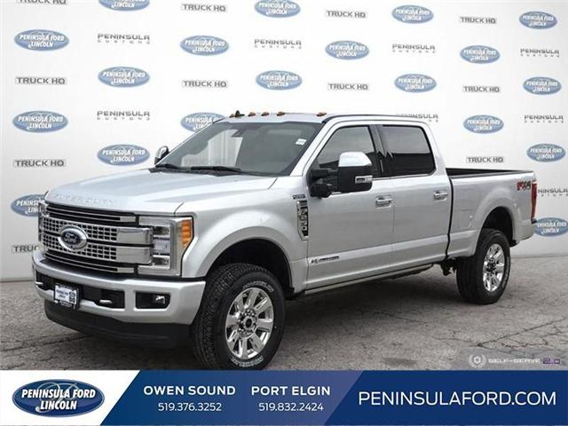 2019 Ford F-250 Platinum (Stk: 19FE167) in Owen Sound - Image 1 of 25