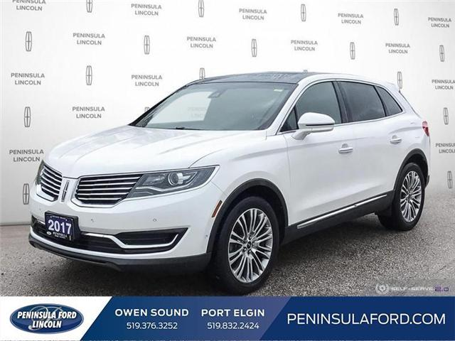 2017 Lincoln MKX Reserve (Stk: 1770) in Owen Sound - Image 1 of 23