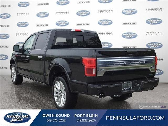 2019 Ford F-150 Limited (Stk: 19FE178) in Owen Sound - Image 4 of 24