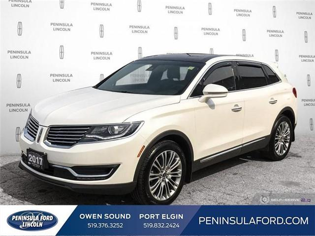 2017 Lincoln MKX Reserve (Stk: 19LI22A) in Owen Sound - Image 1 of 25