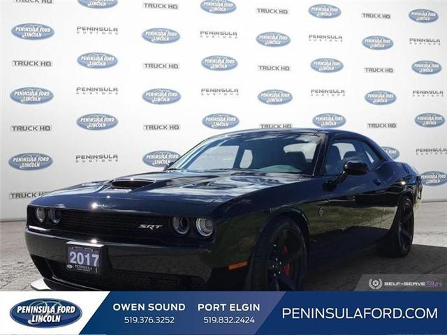 2017 Dodge Challenger SRT Hellcat (Stk: 1786) in Owen Sound - Image 1 of 25