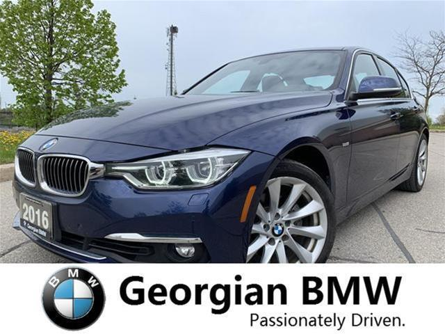 2016 BMW 328i xDrive (Stk: B19027-1) in Barrie - Image 1 of 15