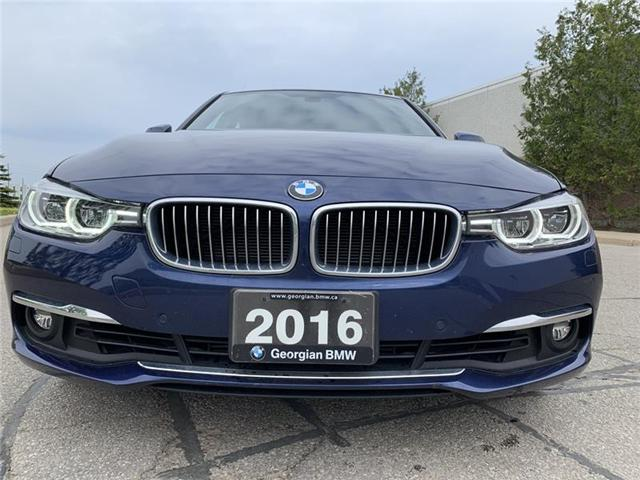 2016 BMW 328i xDrive (Stk: B19027-1) in Barrie - Image 2 of 15