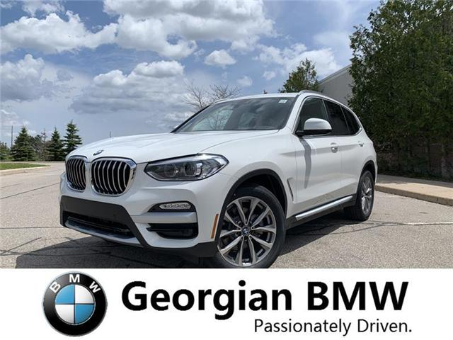 2019 BMW X3 xDrive30i (Stk: B19132) in Barrie - Image 1 of 5