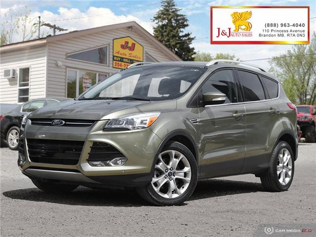 2014 Ford Escape Titanium (Stk: J19039) in Brandon - Image 1 of 27
