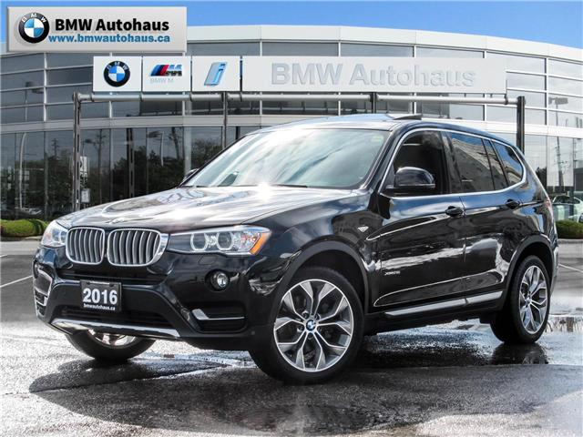 2016 BMW X3 xDrive28i (Stk: 19616A) in Thornhill - Image 1 of 22