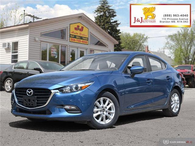 2018 Mazda Mazda3 GS (Stk: J19041) in Brandon - Image 1 of 27