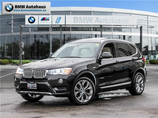 2015 BMW X3 xDrive28d (Stk: P8677) in Thornhill - Image 1 of 27