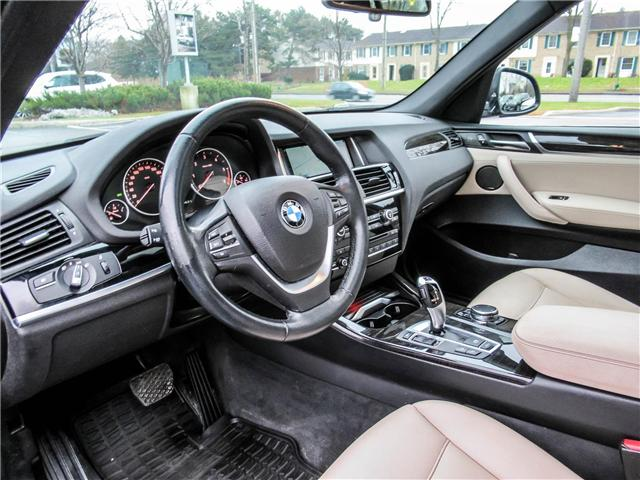 2015 BMW X3 xDrive28d (Stk: P8677) in Thornhill - Image 10 of 27