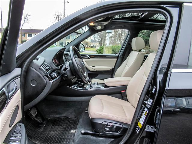 2015 BMW X3 xDrive28d (Stk: P8677) in Thornhill - Image 11 of 27