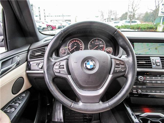 2015 BMW X3 xDrive28d (Stk: P8677) in Thornhill - Image 13 of 27