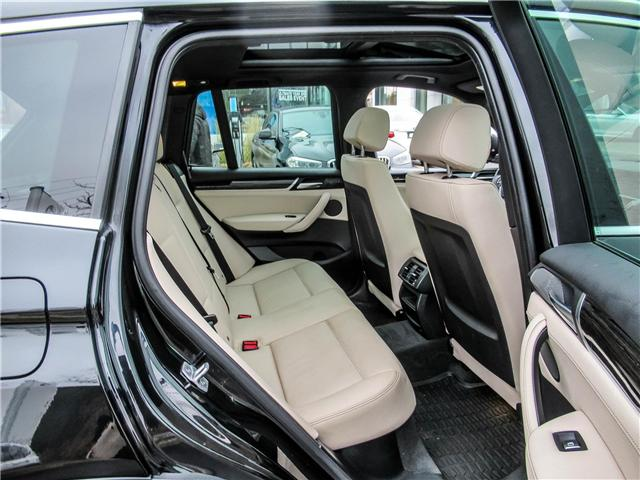 2015 BMW X3 xDrive28d (Stk: P8677) in Thornhill - Image 18 of 27