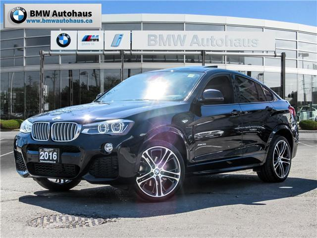 2016 BMW X4 xDrive35i (Stk: P8721A) in Thornhill - Image 1 of 26
