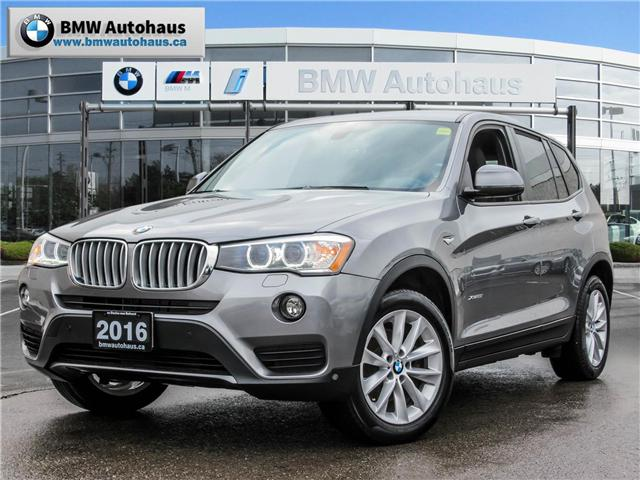 2016 BMW X3 xDrive28i (Stk: P8780) in Thornhill - Image 1 of 24