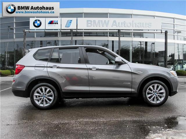 2016 BMW X3 xDrive28i (Stk: P8780) in Thornhill - Image 4 of 24