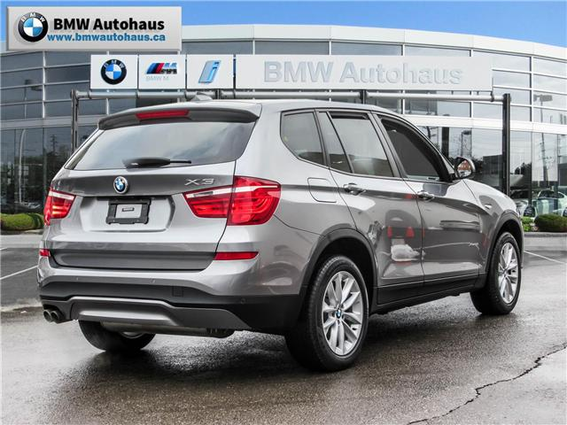 2016 BMW X3 xDrive28i (Stk: P8780) in Thornhill - Image 5 of 24