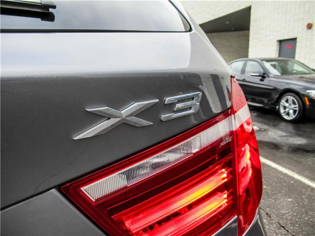 2016 BMW X3 xDrive28i (Stk: P8780) in Thornhill - Image 17 of 24