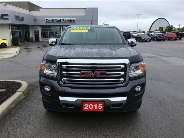 2015 GMC Canyon SLT (Stk: 155295) in Grimsby - Image 2 of 14