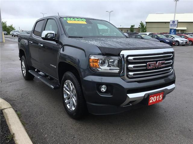 2015 GMC Canyon SLT (Stk: 155295) in Grimsby - Image 3 of 14