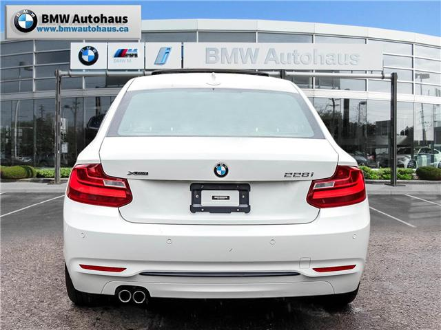 2015 BMW 228i xDrive (Stk: P8850) in Thornhill - Image 6 of 18