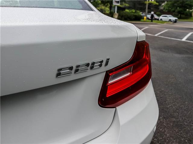 2015 BMW 228i xDrive (Stk: P8850) in Thornhill - Image 14 of 18