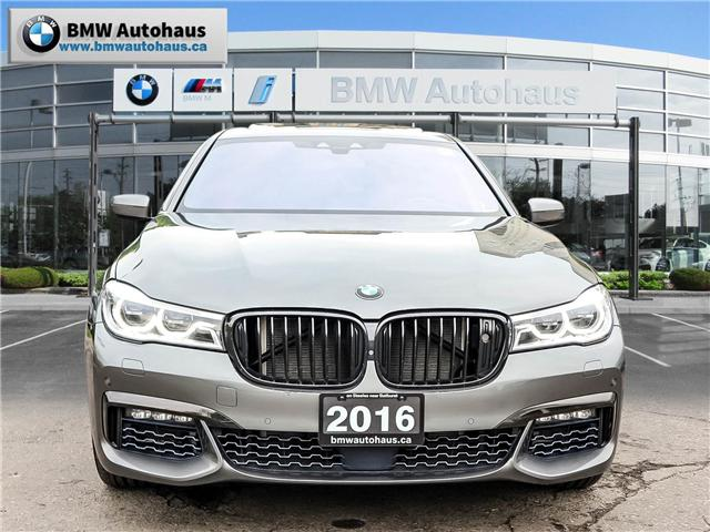 2016 BMW 750i xDrive (Stk: P8927) in Thornhill - Image 2 of 32