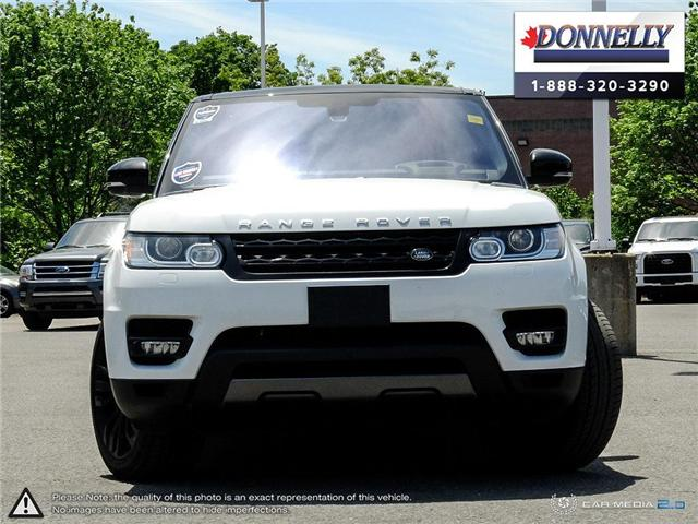 2016 Land Rover Range Rover Sport V8 Supercharged (Stk: PLDS409A) in Ottawa - Image 2 of 28